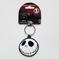 Nightmare Before Christmas - Jack Skellington Head Soft Touch Keychain/keyring