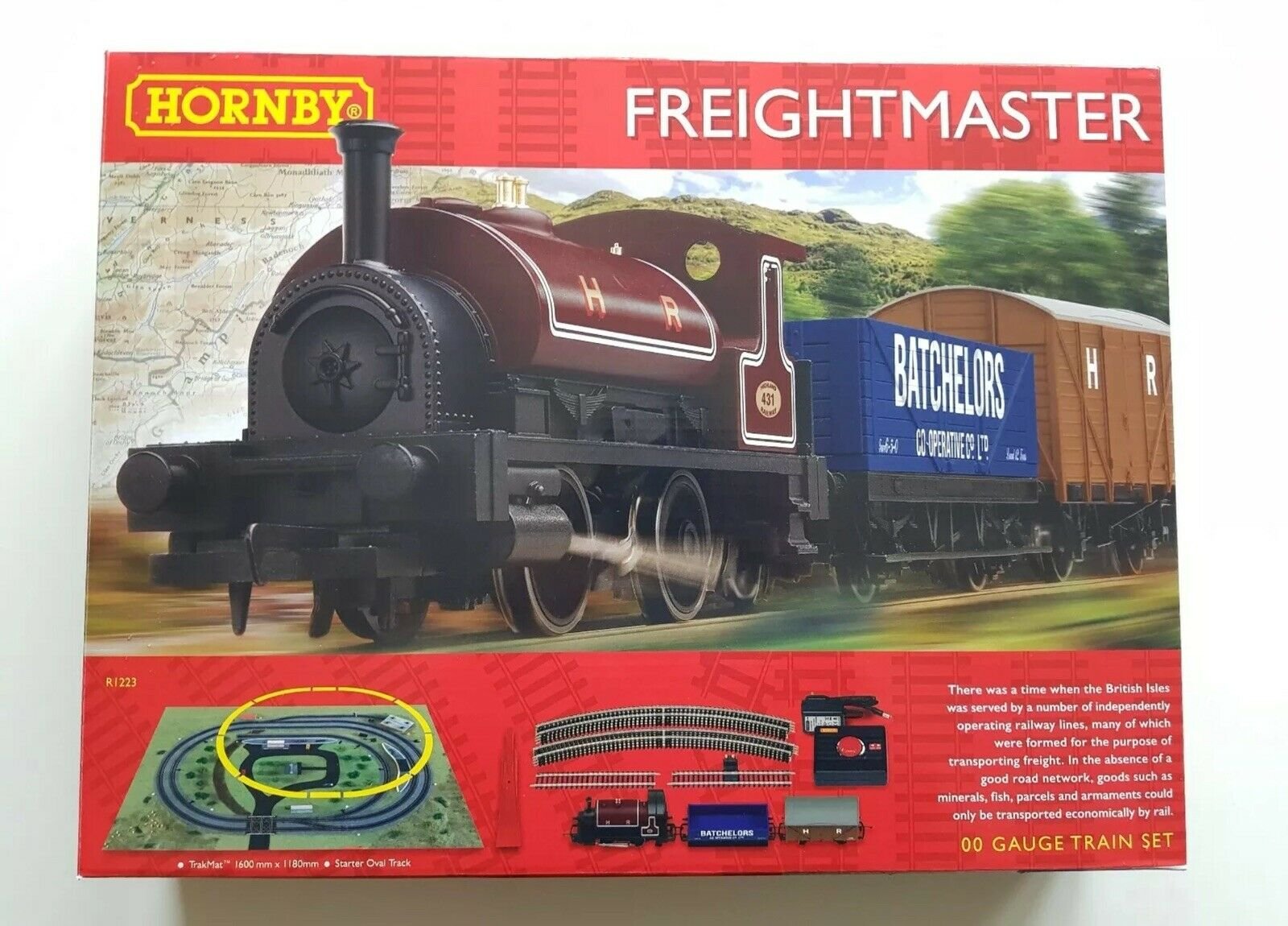 Hornby Freightmaster Train Set 00 Gauge R1223  nuovo