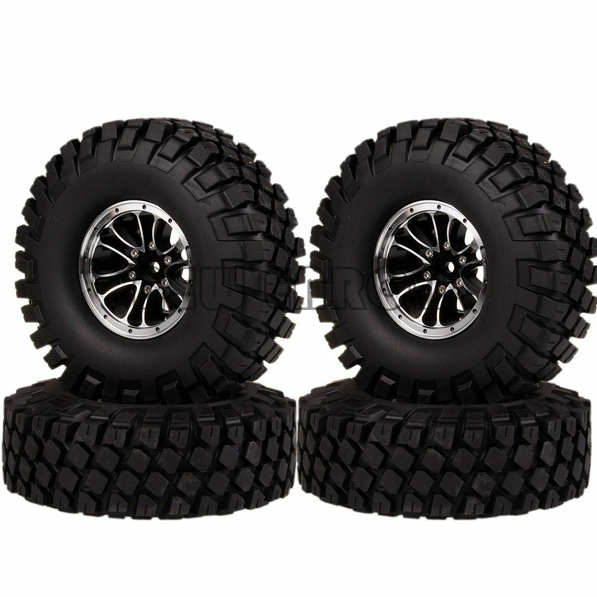 RC 1.9 Inch Wheel Rim & Tyres 4P 1051-7038 For 1 10 Traxxas TRX4 Tamiya SCX10