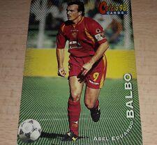 CARD CALCIATORI PANINI 98 ROMA BALBO CALCIO FOOTBALL SOCCER ALBUM
