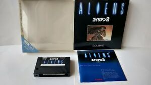 ALIENS-2-MSX-MSX2-Game-cartridge-Manual-Boxed-set-tested-a517