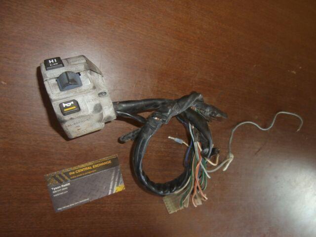 honda shadow signal light switch wiring 1984 honda shadow 500 vt500c headlight turn signal light switch  1984 honda shadow 500 vt500c headlight