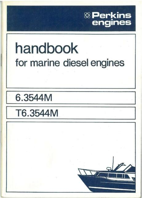 perkins 6 3544m t6 3544m marine diesel engine operators manual ebay rh ebay co uk perkins 4108 marine diesel manual perkins marine diesel parts manual