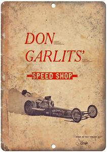 "Don Garlits funny car 1969 Drag Racing car race 10/"" x 7/""  Retro Metal Sign"