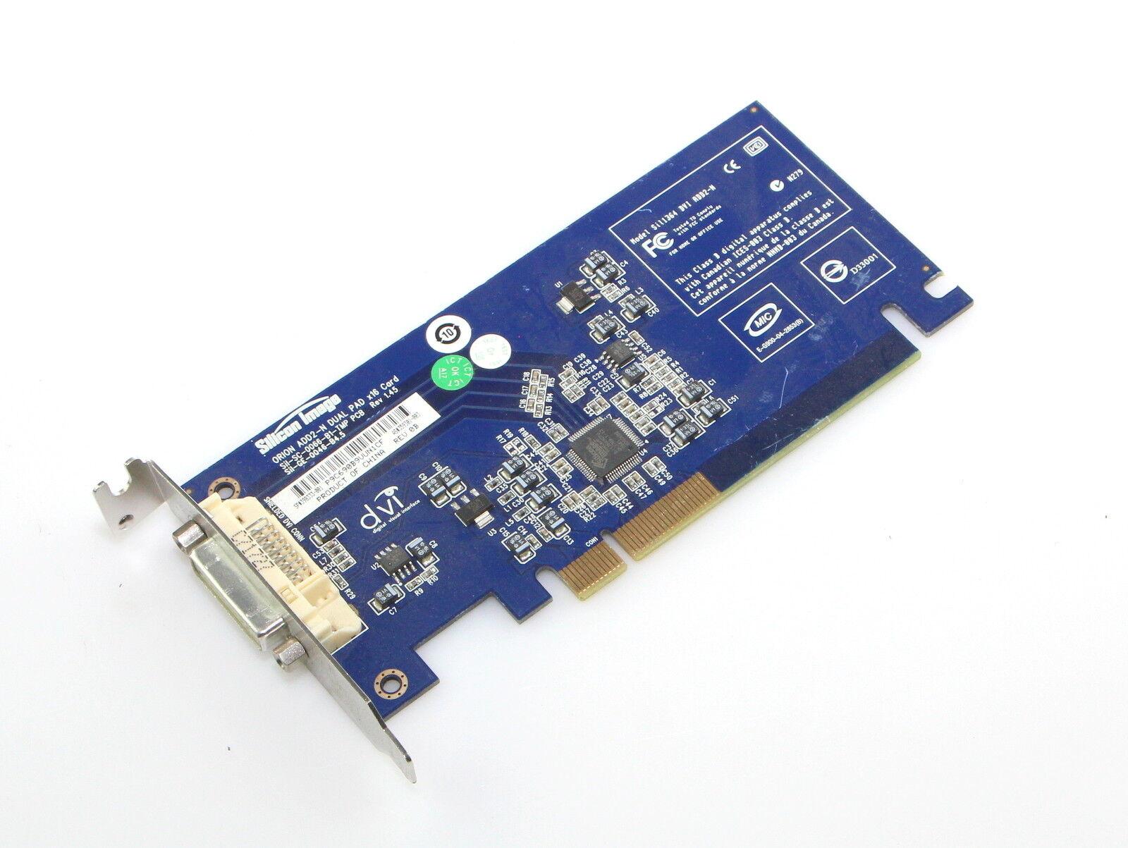 HP 398333-001 ADD2-N Pci-Express x16 DVI - D Low Profil Adapter Karte 359301-003