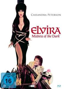 Cassandra Peterson-Elvira-Mistress of the Dark 2 Blu-ray + DVD nuevo