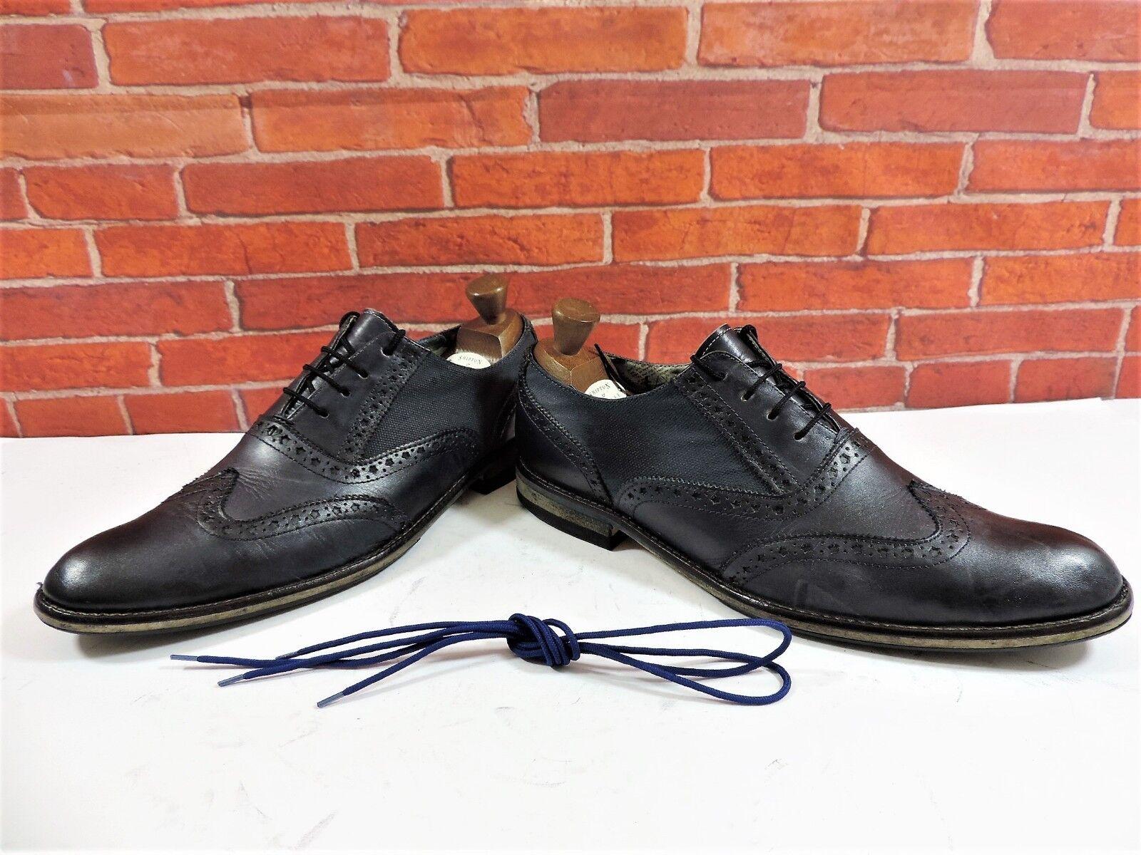 Paolo Paolo Paolo Vandini Herrenhalbschuhe UK 10 Us 11 Eu 44 Marineblau Schuhe Smith c5deb8