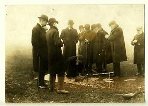 Demo-of-the-Rexer-Machine-Gun-copy-of-the-Madsen-one-Bisley-Rare-Photo-1906