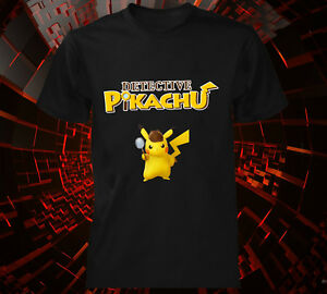1327e192 Image is loading Detective-Pikachu-T-shirt-pokemon-inspired-movie-kids-