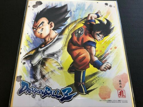 BANDAI Dragon Ball Shikishi 8 ART8 Son Goku Vegeta Dragonball ART 8 JAPAN