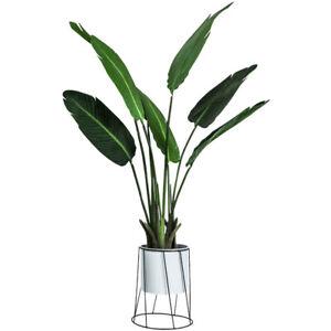 Plant-Pot-amp-Stand-Iron-Metal-Holder-Geometric-Planter-Chic-Indoor-Garden-Display