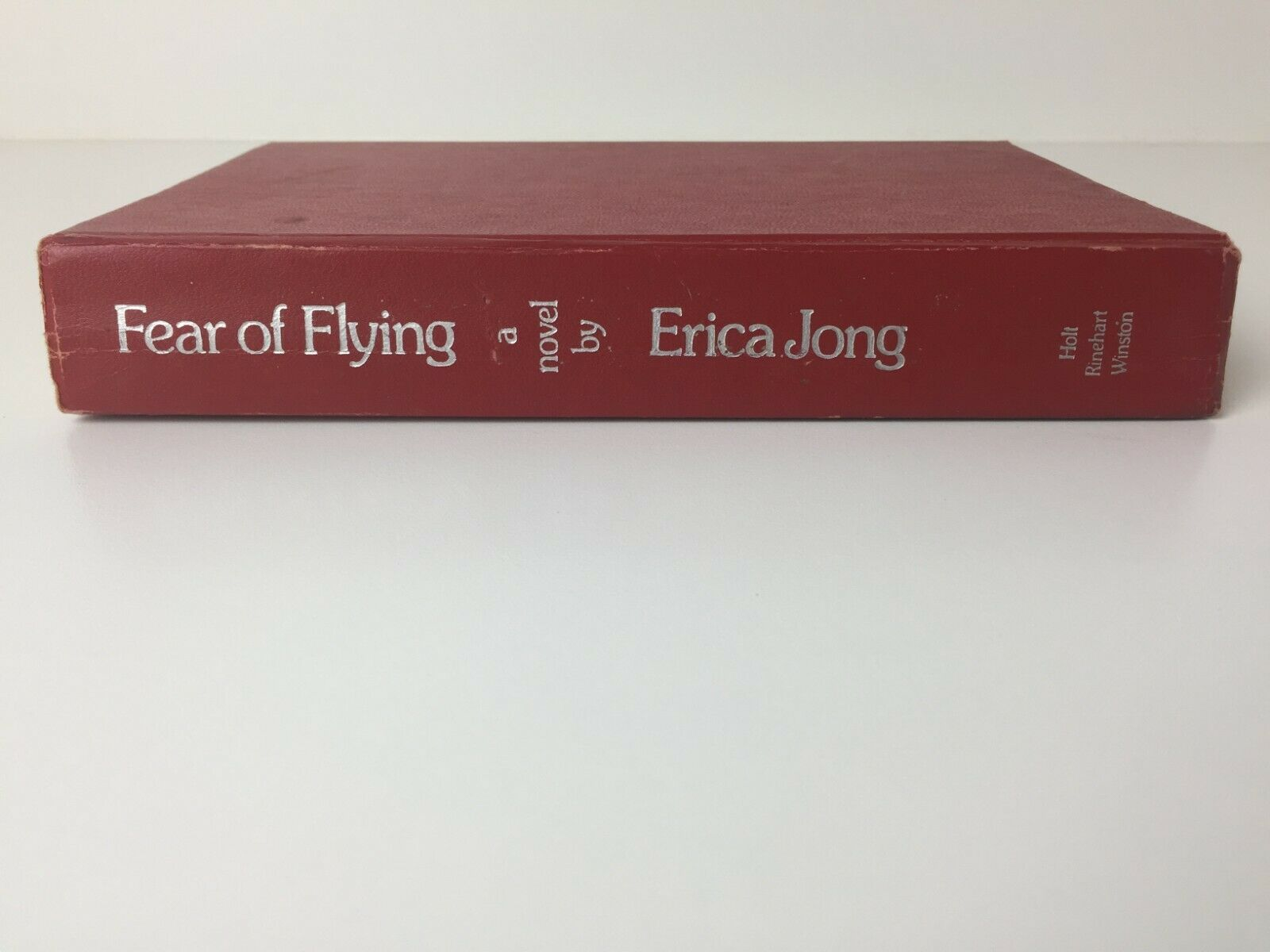 1973 Fear Of Flying A Novel by Erica Jong (hardcover) 1