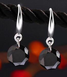 Elegant-Fashion-Silver-Plated-Womens-Crystal-Rhinestone-Drop-Ear-Stud-Earrings