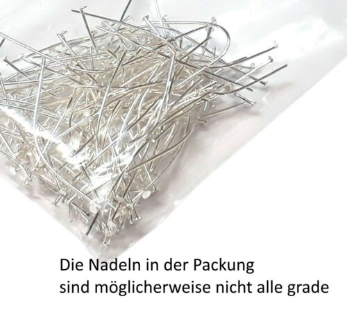 600 kettelstifte aguja 20mm nietstifte cabeza lápiz de metal plata m311