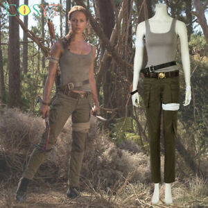 Tomb Raider Lara Croft Cosplay Costumes Lara Halloween ...