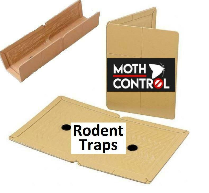 Strong Sticky Mouse Traps Rat Killer Poison Professional Strength Small Board UK