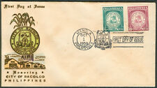 1959 Philippines HONORING CITY OF BACOLOD First Day Cover – D
