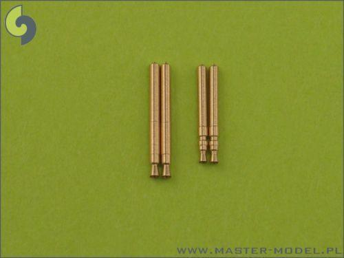AM-48-009 Master 1//48 MG 17 Tips and MG FF Barrels for Bf 109E3-E9 /& T 2 each