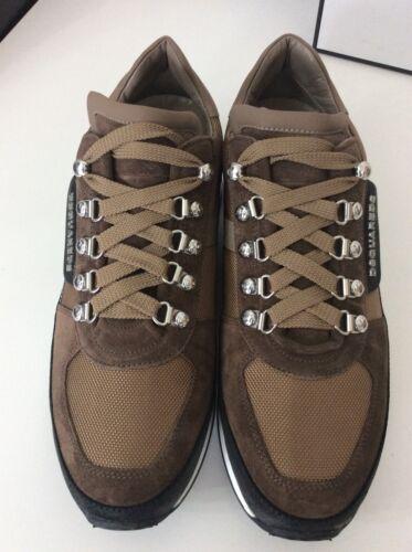 ginnastica da £ 6 Rrp Eu40BeigeScarpe Dsquared2 375 Ds2 New SneakersRunnerUk 7vIY6yfbg