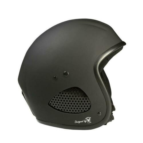 Bores SRM slight 3 HELIOS NERO-OPACO CASCO Moto Cruiser Chopper