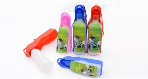 L-P-Hundetrinkflasche-Trinken-Karabiner-Hundewasserflasche-Wasserspender-250ml