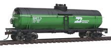 HO Scale Model Railroad Trains Layout Walthers Burlington Northern Tank 1440 a