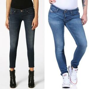 Diesel SKINZEE-LOW-S Damen Jeans Denim Super Slim-Skinny Low Hose Jeanshose