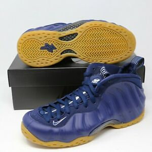 best deals on aea25 9d267 Details about Nike Air Foamposite One 1 Midnight Navy Blue Gum Penny 8.5  314996-405 Foams pro