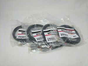 Lot of 4 Binary Cables (B3-AUD-2)