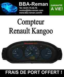 r paration tableaux de bord compteur renault kangoo ebay. Black Bedroom Furniture Sets. Home Design Ideas