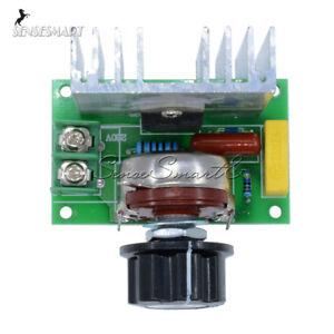 4000W SCR Motor Speed Controller Module Voltage Regulator AC Dimmer Thermostat