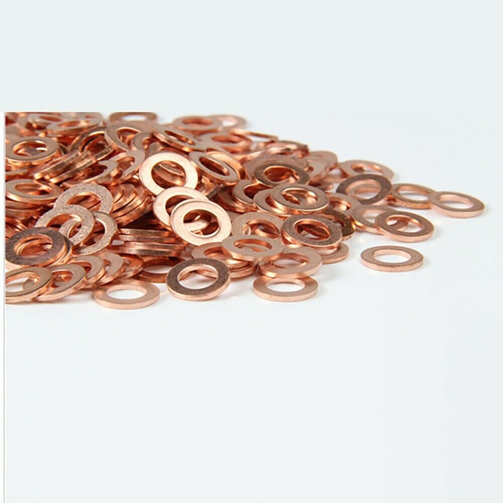 GENUINE Common Rail Copper Injector Washer 15.00 x 7.5 x 2.5mm Pk 50Connect 3