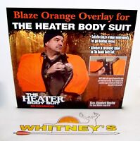 The Heater Body Suit Orange Std.overlay Zipper Fits S,m.l,tall Model 401-z