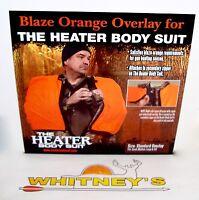 The Heater Body Suit Orange Std.overlay Zipper Fits S,m.l,tall Model 401-z