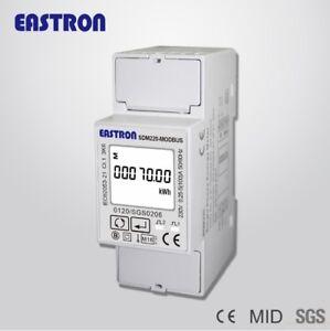 SDM220-Modbus025-5-100A-220V-230V-50Hz-60Hz-Monofasico-Medidor-Consumo-KWH