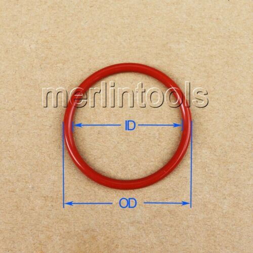 5mm Section Select OD from 52mm to 300mm VMQ Silicone O-Ring gaskets