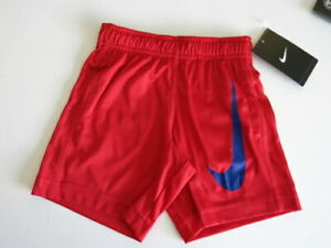 Diplomatic Nike Toddler Boy's Red Blue Shorts Short Pants Athletic Bottoms 2t/3t/4t To Be Highly Praised And Appreciated By The Consuming Public Clothing, Shoes & Accessories Bottoms