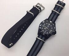 Vintage TAG HEUER Professional Quartz 980.026 Black PVD Submariner Diver Watch