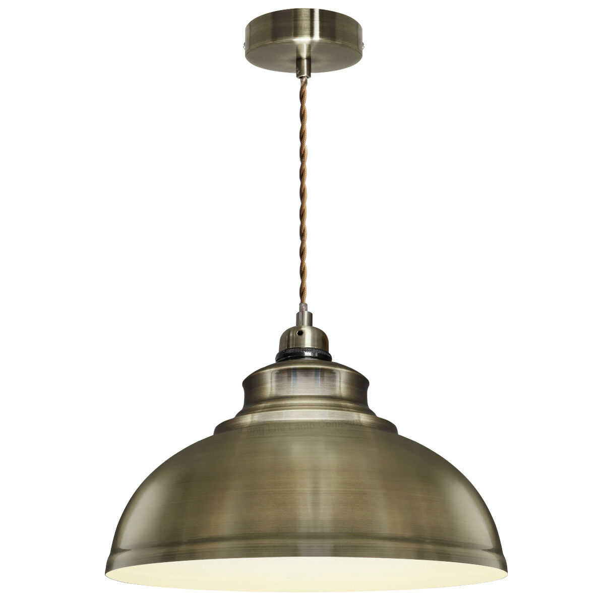 Outstanding Details About Vintage Antique Brass Hanging Ceiling Pendant Dining Room Light With Free Bulb Download Free Architecture Designs Viewormadebymaigaardcom