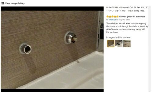 "4 1//2/"" Inch Diamond Hole Saw Diamond Tipped Tile Ceramic Glass Hole Saw Drill"