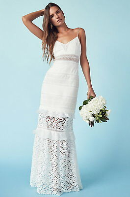 Self Portrait Peony Bridal Gown Brand New With Tags Size 10 Us Uk