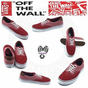 c1d0910f94 Image is loading VANS-Era-59-Canvas-and-Chambray-Chili-Red-