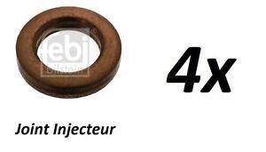 68ch 4x JOINT INJECTEUR DACIA LOGAN LS/_ LS0K 1.5 dCi