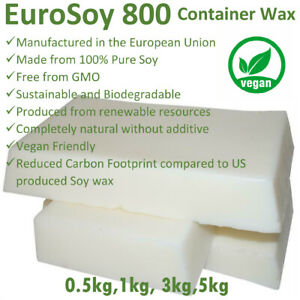 1kg-3kg-5kg-PROFESSIONAL-100-NATURAL-SOY-WAX-Melt-amp-Candle-Making-Supplies-BULK