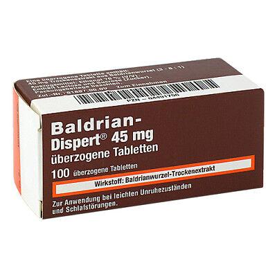 BALDRIAN DISPERT 45 mg Tabl.ueberzogen 100St PZN 04491756