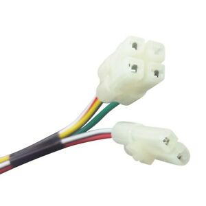 Details about ELECTRIC CABLE WIRE HARNESS PLUG CDI GY6 4-STROKE 50cc-150cc on