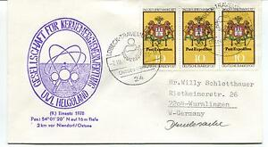 1978 Lobeck Helgoland Niendorf Polar Antarctic Cover Attrayant Et Durable