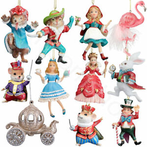 image is loading gisela graham disney themed characters hanging christmas xmas - Disney Themed Christmas Decorations