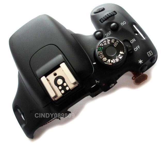 Original Top Head Cover Repair Part For Canon EOS REBEL T3I 600D DSLR Camera
