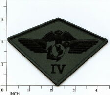 USMC 4th Marine Aircraft Wing subdued OD camo PATCH 4th MAW 4th Air Wing Marines